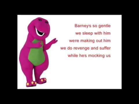 Barney Song Backwards