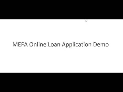MEFA Loan Application Demo