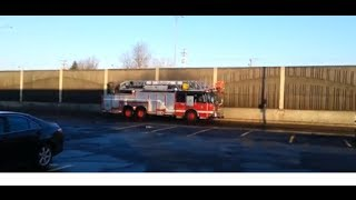 preview picture of video 'SIM 228 - 428 Montreal Fire Department responding - Anjou'