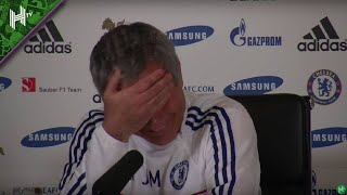 FUNNY! Strange noise from Chelsea player interrupts Jose Mourinho's press conference