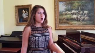 """Clara Lavrador sings """"Point of no Return"""" (Phantom of the Opera)"""
