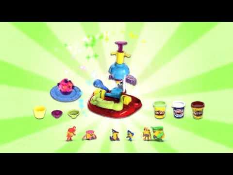 Ciastolina Play Doh Kawiarnia i Ciastkarnia | zabawkiTV