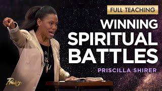 Priscilla Shirer: YOUR Spiritual Battle & the Armor of God (Full Teaching)   Praise on TBN