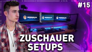Die BESTEN Gaming Setups von meinen ZUSCHAUERN! (Teil 15)