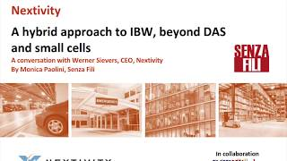 RCR Wireless News: Beyond DAS and small cells. A conversation with Werner Sievers