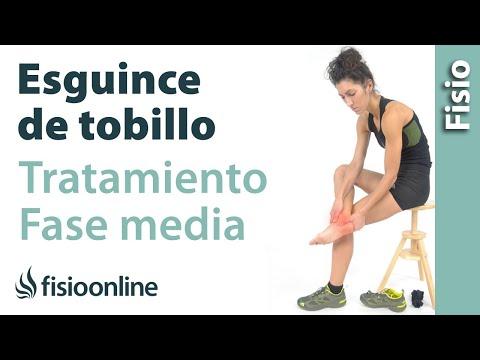 Tratamiento para un esguince o torcedura de tobillo nivel medio