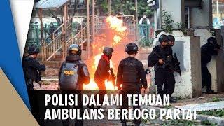 Polisi Dalami Kasus Temuan Ambulans Berlogo Partai yang Dipenuhi Batu