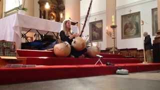 Geluksconcert Intuïtieve zang & N'goni door Dymphi Peeters – fragment 1/2