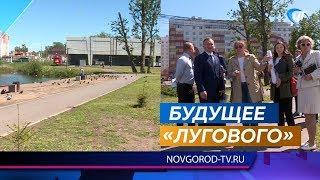 Жители микрорайона «Луговой» высказали свои мнения о благоустройстве местного парка