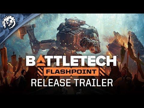 BATTLETECH: Flashpoint - Release Trailer thumbnail