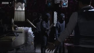 EastEnders  The Carters Are Robbed <b>The Vic </b>Is Raided