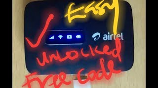 How to Unlock Alcatel Mifi (MW40VD) Router