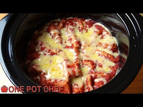 Easy Slow Cooker Lasagna | One Pot Chef