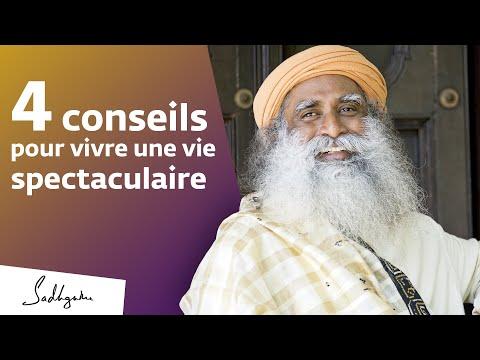 4 conseils pour une vie réussie | Sadhguru Français 4 conseils pour une vie réussie | Sadhguru Français