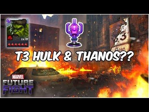 A Mysterious Crater?! Sneak Peek! Hulk + Rage CTP!! (Endgame Update) - Marvel Future Fight