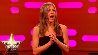 Jennifer Aniston Gets Emotional Over The Friends Theme Song | The Graham Norton Show