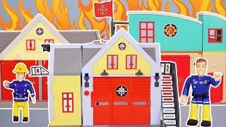 FEUERWEHRMANN SAM Feuerwehr Station / Feuerwache vom Simba | Character-Online! Fireman deutsch