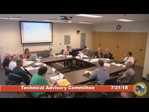Technical Advisory Committee 7.31.18