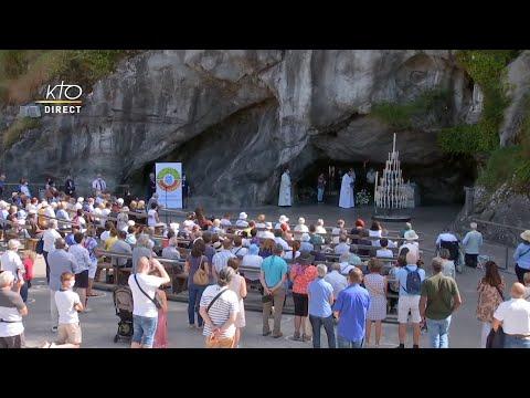 Chapelet du 12 septembre 2020 à Lourdes