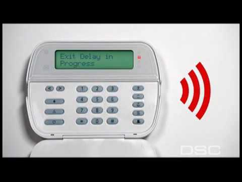DSC Alexor Wireless Alarm Panel Overview