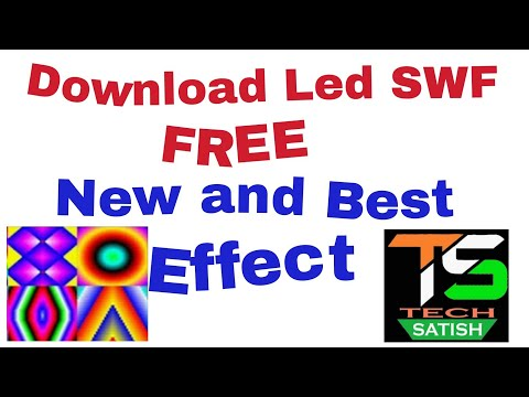 Download Led SWF New effect free || LED Edit new effect