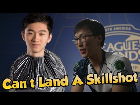 DOUBLELIFT TRASHTALKING BIOFROST! - League of Legends Funny Stream Moments #94