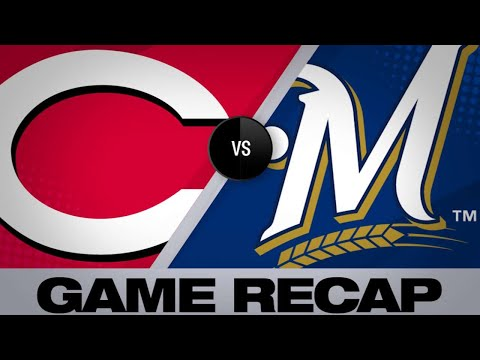 Grandal powers Brewers to 6-5 win vs. Reds   Reds-Brewers Game Highlights 6/22/19