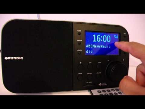 Grundig Replay Digital Radio-Scheduled EPG Recording Demo and Review