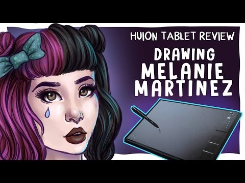 TABLET GIVEAWAY!!! | Drawing MELANIE MARTINEZ//HUION TABLET REVIEW | Jenna Drawing