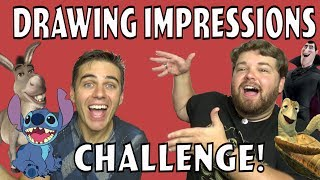 Draw the Impression Challenge Ft. It'sAlexClark