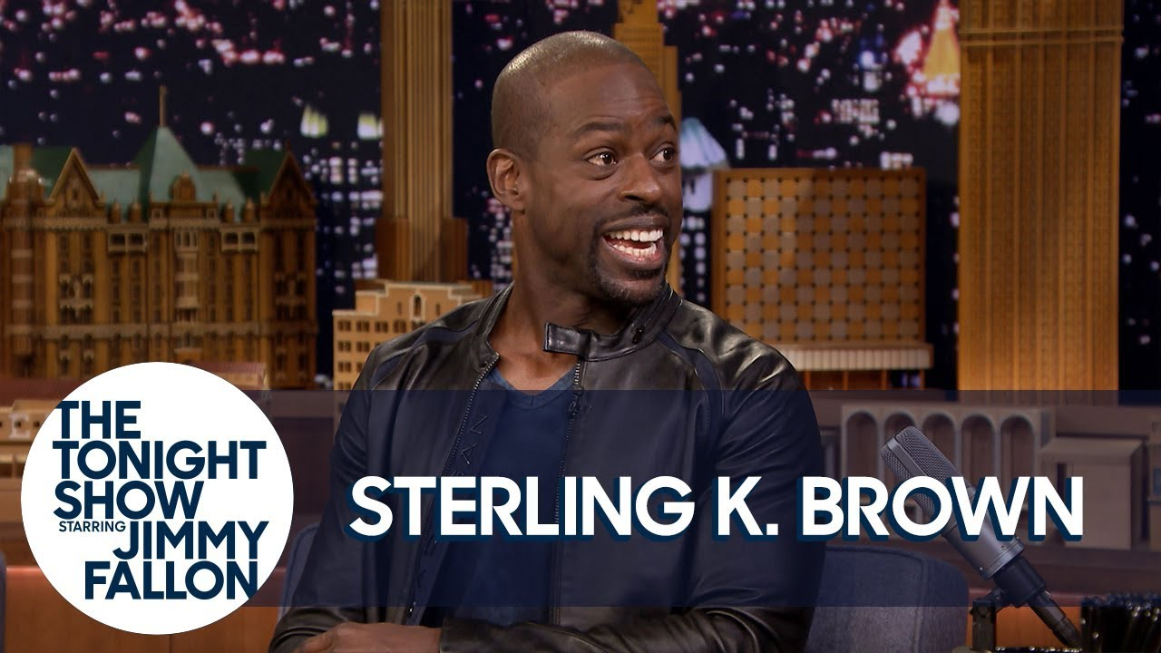 Sterling K. Brown Overdoes It with Baby Powder Sometimes thumbnail