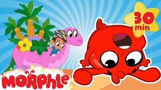 Morphle in the Desert - My Magic Pet Morphle | Cartoons For Kids | Morphle TV | Mila and Morphle