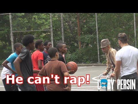 Grandpa Raps In The Hood Like A Boss!