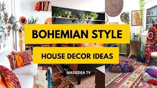 75+ Best Bohemian Style House Design & Decor Ideas