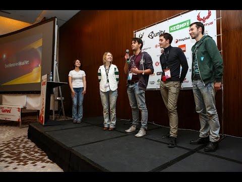 Awards Ceremony - DevGAMM Minsk 2014