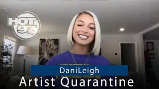 DaniLeigh Doesn't Deny Her Relationship With DaBaby + Talks New Album | Artist Quarantine