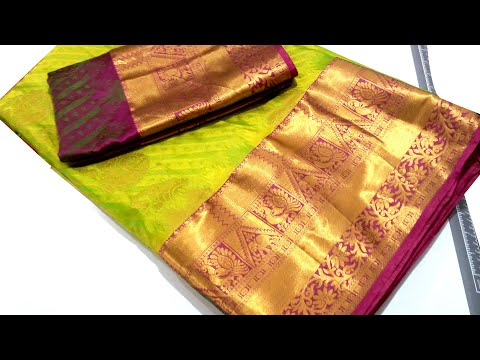 Easy silk saree blouse back neck design stitching class