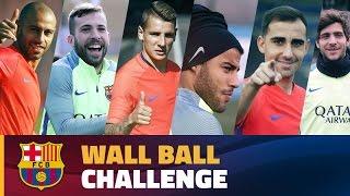 FC Barcelona – Wall Ball Challenge