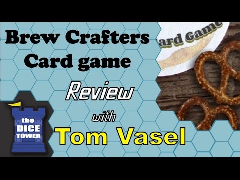 Dice Tower Reviews: Brew Crafters: The Travel Card Game