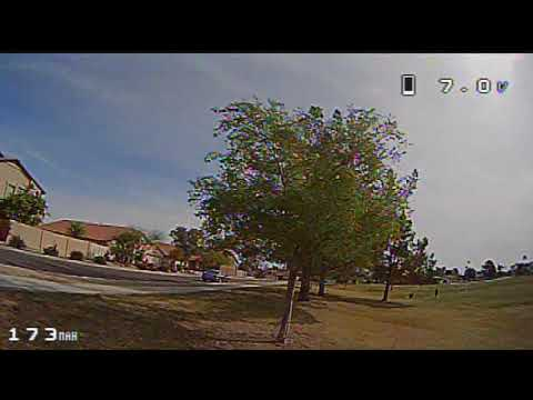 Eachine Trashcan Brushless Whoop - FPV Early Morning Park Flight Spring Day(EV100 DVR)