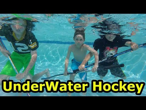Kids HocKey Underwater Hockey Game