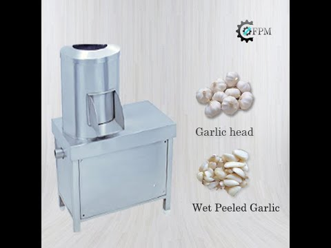 Wet Garlic Peeling Machine