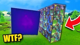 CAN YOU STOP THE CUBE?? | Fortnite Battle Royale