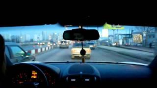 Девушка за рулем Porsche Cayenne,шашки! Girl driving a Porsche Cayenne