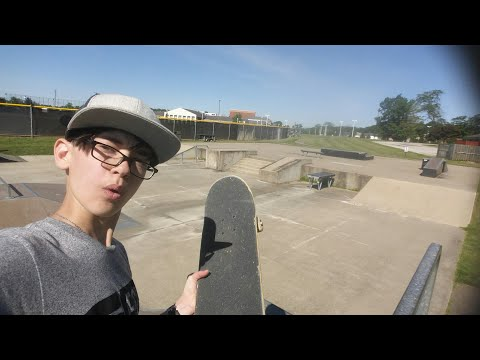 At Aurora skate park!!