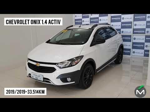 video carousel item Chevrolet Onix 1.4 Mpfi Activ 8v Flex 4p Aut 2019