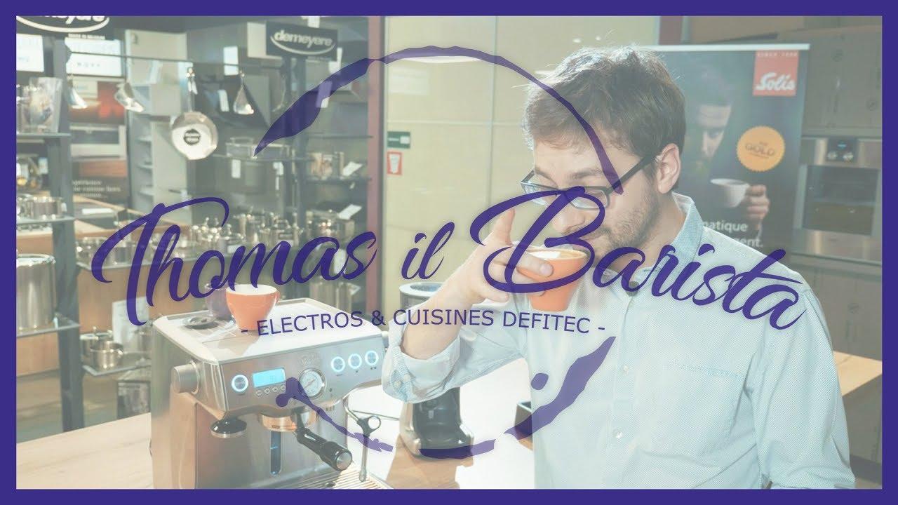 Latte art, grâce à la Machine à café et expresso Solis Barista Triple Heat 1011