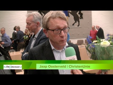 "VIDEO | Jaap Oosterveld (ChristenUnie): ""Dankbaarheid, ook richting God"""