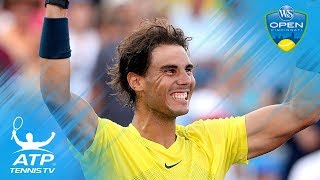 Roger Federer v Rafael Nadal: Cincinnati 2013 best shots and rallies