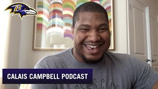 Calais Campbell Gives Update On His Acclimation | Baltimore Ravens